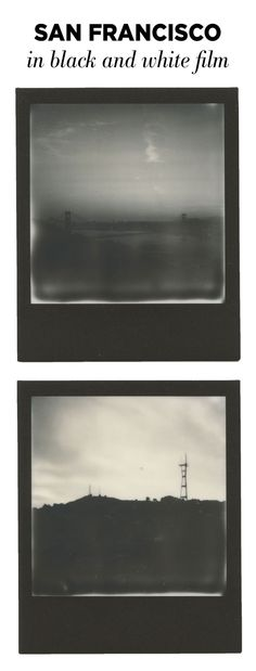 San Francisco in black and white Polaroid 600 type film. Instant film photography is making a comeback. Check out the unboxing of the original Polaroid SLR 680 instant film camera, how to install a frog tongue, and insert the first pack of Impossible film. You'll also see the first black and white Polaroids!
