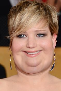 What Celebrities Would Look Like If They Were Fat. This is a thing of beauty :')