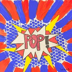 Lichtenstein Art with Bubble Wrap via /karyntripp/