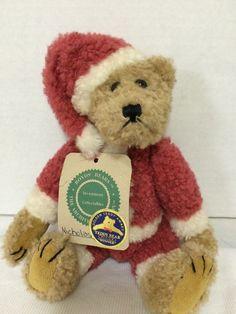 "Boyd's Bears Santa Archive Collection Nicholas Stuffed Plush Jointed - NWT 9"" #Boyds #Christmas"