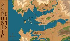 Image result for map of republic city
