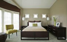 Die nächsten Farben in der Liste sind Gelb und Grün. Überraschend gehören Braun und Grau ganz unten im Katalog von den..Coole Schlafzimmer Farbpalette