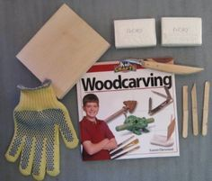 Kid Crafts Woodcarving Kit... one of our very favorite Christmas gifts EVER!