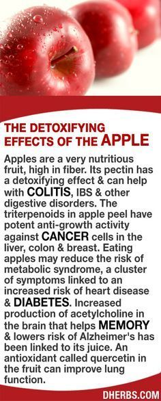 Its pectin has a detoxifying effect & can help with colitis, IBS & other digestive disorders. The triterpenoids in apple peel have potent anti-growth activity against cancer cells in the liver, colon & breast. Eating apples may reduce the risk of metabolic syndrome, linked to heart disease & diabetes. Increased production of acetylcholine that helps memory & lowers risk of Alzheimer's has been linked to its juice. Quercetin, an antioxidant in the fruit can improve lung function. #dherbs