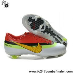 outlet store 7917e b23b4 Latest Listing Discount tyle 2013 New Red White Yellow Nike Mercurial Vapor  Superfly Nike Mercurial Vapor