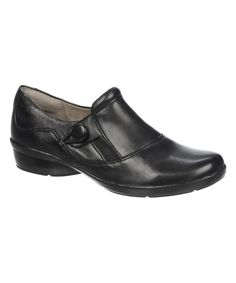 Look at this Black Calipso Leather Loafer on #zulily today!