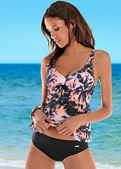 f76fd9063c Tropical Tankini Set in Sunset Palms