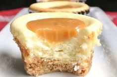 Caramel Cheesecake Recipe | Caramel Cheesecake Bites