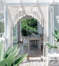 High-Impact Sale Gearing Up for Christmas Sale Macrame Wedding Porch And Balcony, Rope Art, Macrame Curtain, Macrame Projects, Weaving Art, Macrame Knots, Absolutely Stunning, Outdoor Living, Backdrops