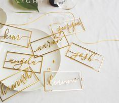 Diy Resin Crafts, Diy And Crafts, Fall Wedding, Diy Wedding, Wedding Name Cards, Flower Frame, Diy Cards, Custom Stickers, Wedding Invitations