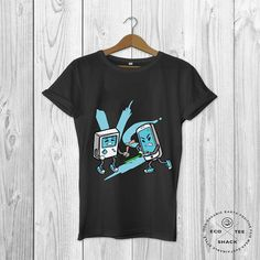 Gadget wars shirt Geek shirt Graphic Tshirt Gamer shirt