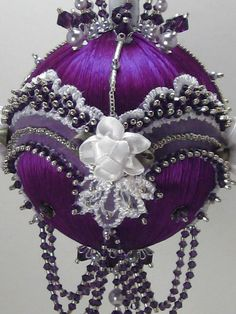 Victoriana Purple Royale  Victorian Theme  A Finished Hand