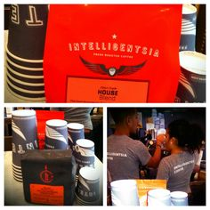 Buy Intelligentsia Coffee Beans (house blend or espresso) from Crave Sandwiches. Cause we offer the best gourmet coffee in midtown!