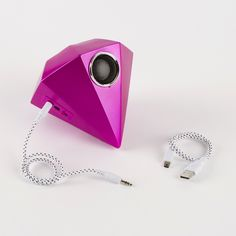 17. Giant Gem Speaker: This portable speaker is perfect for someone who LOVES music. They can carry their tunes on the job or wherever they go.