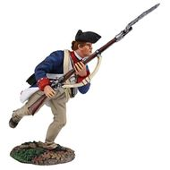 W. Britain - 16022 - Continental Line/1st American Regiment Charging with Bayonet No.1, 1777-1787