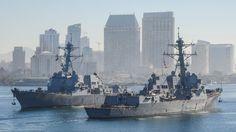 USS Kidd USS Stockdale