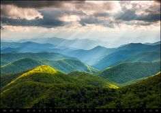 https://flic.kr/p/f9hXai | Great Smoky Mountains National Park NC - Western North Carolina | Great Smoky Mountains National Park NC - Western North Carolina  The NC Blue Ridge Parkway in Western North Carolina has so many awesome sights to see any time of the year!  This summer  evening in the southern Appalachians gave us some amazing crepuscular light rays over the Great Smoky Mountains National Park in the background.  I've been missing the warmer weather and colors of spring and summer…