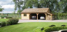 Byton Low-Ridge | Oak Framed Garages & Out Buildings | Radnor Oak
