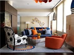 Contemporary (Modern, Retro) Living Room by Christopher Coleman