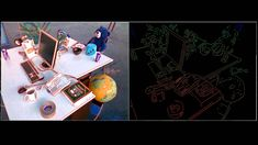 Introductory video of the REBVO method presented at Tarrio, J. Realtime Edge-Based Visual Odometry for a Monocular Camera. Computer Vision, Raspberry, Polaroid Film, Base, Cards, Raspberries, Maps, Playing Cards