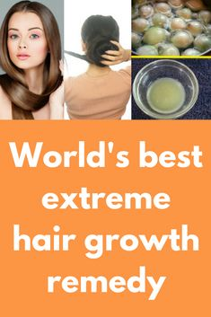 World's best extreme hair growth remedy Today I will share recipe of extreme hair growth oil. This oil will help you to fight against hair fall and also one clogged hair follicles, so new hair growth can start For this remedy you will need Onion juice Ginger juice Olive oil What to do: In a clean bowl take 2 table spoons …