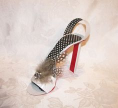 Extreme High Heel Stiletto with Red Sole Paper by apreciousmemory, $6.00