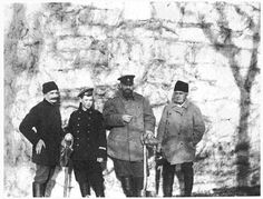 """Ferdinand Thormeyer  (French and literature tutor),Grand Duke Mikhail Alexandrovich Romanov of Russia,Tsar Alexander III of Russia and ? at Gatchina. """"AL"""""""