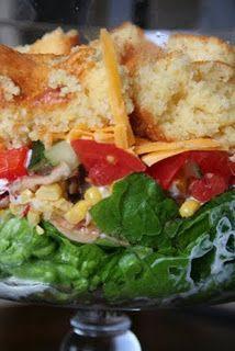 Southwestern Trifle Salad