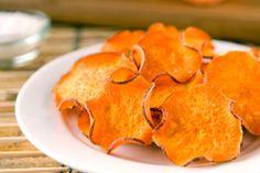 Leckere Süßkartoffelchips in Rohkostqualität einfach selbst gemacht