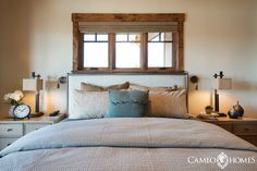 Guest bedroom in Park City, Utah.