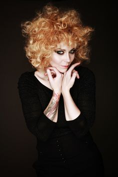the lovely and talented Anneke Van Giersbergen