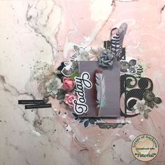 Scraps of Darkness scrapbook kits Video Tutorial: Pink and black Layout- An Aug. Sparkle & Shine Kit project by Cindy Brown. 2017 Design, Club Design, Mixed Media Scrapbooking, Simple Stories, Diy Scrapbook, Sparkle, Paper Crafts, Doll, Darkness