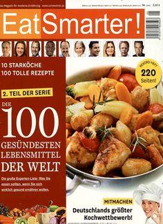 Die 100 gesündesten Lebensmittel der Welt Gefunden in: EatSmarter! Nr. 05/2014