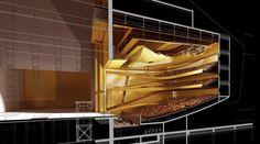 Verneigung oder Hülle - Konzerthalle von gmp in China