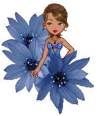 Candy Doll Animadas: Bonecas Candy Dolls Negras Rosto Flores