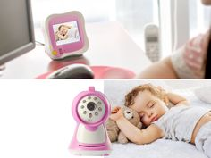 Wireless Night Vision Baby Monitor with 3.5 Inch Monitor - Baby Monitors