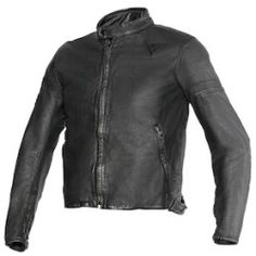 dainese_g_archivio_pelle_estivo_basic_detail Best Deal Dainese Blackjack Leather Jacket (Color: Grey/Black/Yellow / Size: 44)