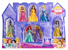 Amazon.com: Disney Princess Little Kingdom Magiclip 7-Doll Giftset: Toys & Games probably cheaper at target or walmart
