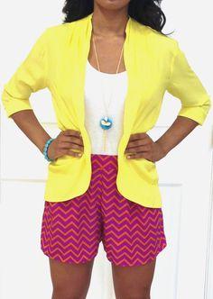 This blazer is a light enough fabric for spring/summer! @ Ella Blu