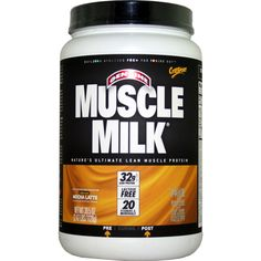 CytoSport Muscle Milk Mocha Latte 2.47 lbs | $56.99 | OvernightSupplements.com | #onSale #supplements #specials #CytoSport #ProteinPowder  | Muscle Milk Powder is a great tasting protein enhanced functional formula that combines 32 grams of high quality protein along with premium ingredients to provide sustained energy and recovery for performance and lifestyle Muscle Milk consists of a precise blend of multi source proteins functional fats low sugar carbohydrates and 20 vita