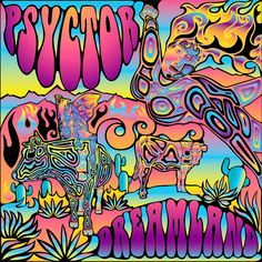 How to create a psychedelic vector music album cover in Abode Illustrator and Adobe Photoshop