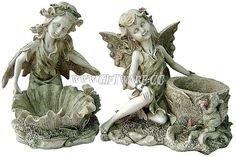 polyresin fairy statues, figurines, garden decorations from giftware.cc