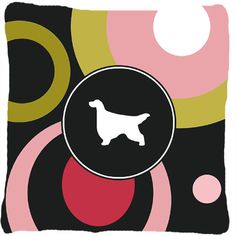 Gordon Setter Indoor/Outdoor Throw Pillow