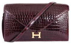 Hermes Crocodile Porosus Lisse Lydie 2way Rare Shoulder Bag. Get one of the hottest styles of the season! The Hermes Crocodile Porosus Lisse Lydie 2way Rare Shoulder Bag is a top 10 member favorite on Tradesy. Save on yours before they're sold out!