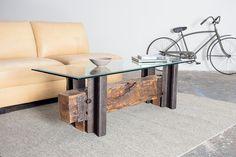 rail yard studios   assembling the double track coffee table — Rail Yard Studios