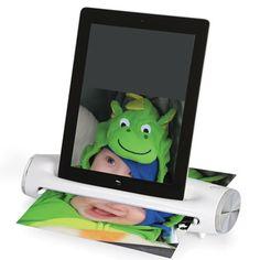 The iPad Document Scanner - Hammacher Schlemmer