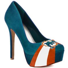Miami Dolphins Fans Unite! REPIN THIS FOR A CHANCE TO WIN FREE PUMPS OF YOUR CHOICE.  *PLUS* The team with the most Repins, Each pinner/fan earns HERSTAR Bucks