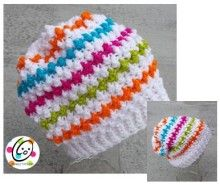 FREE Pattern - Jelly Bean Slouch Hat crochet pattern - Snappy Tots