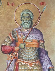 Byzantine Icons, Byzantine Art, Orthodox Icons, Style Icons, Christianity, Diy And Crafts, Saints, Happy Birthday, Sf