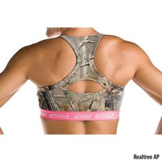 Under Armour UA Camo Mesh Bra - Gander Mountain.... Love under armour...I'm so not a camo girl...but I actually really like this look..lol